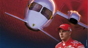 Schumacher repülő Ferrarija