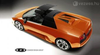 Tetőt kap a nyitott Lamborghini