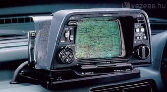 Gázos navigáció 1981-ből