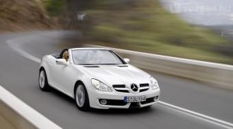 Megújult a Mercedes SLK