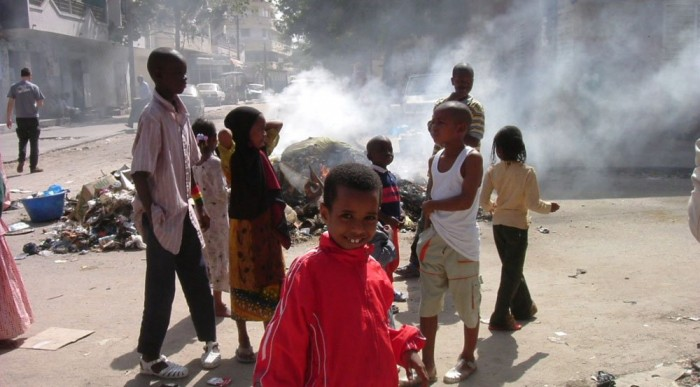 Dakari utcakép