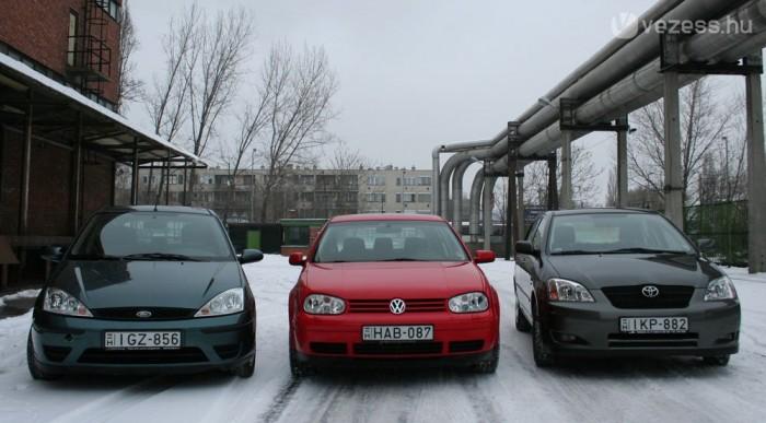 Benzines motorokban a Corolla vezet