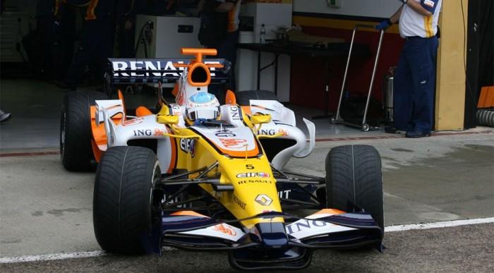 Alonso az R28-asban