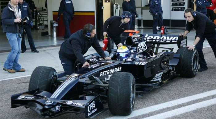 Rosberg jól ment az új Williamsszel