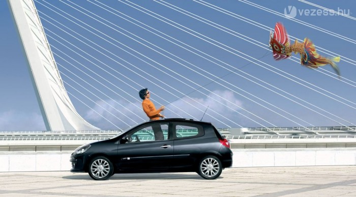 Franciaországban a Clio vezet