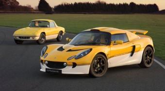 Retro autó a Lotustól