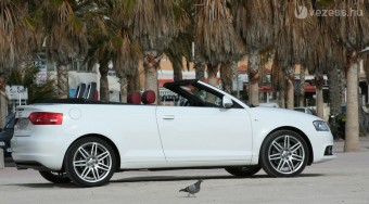 Teszten az új magyar Audi
