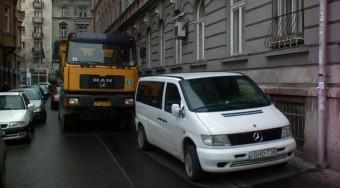 A teherautókat biztosan kitiltják
