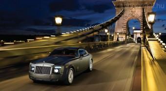 Magyarországon a szuper Rolls-Royce