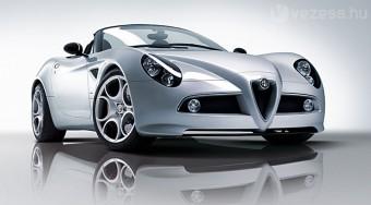 Újabb Ferrari-motoros Alfa