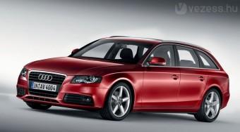 Itt az új Audi A4 kombi