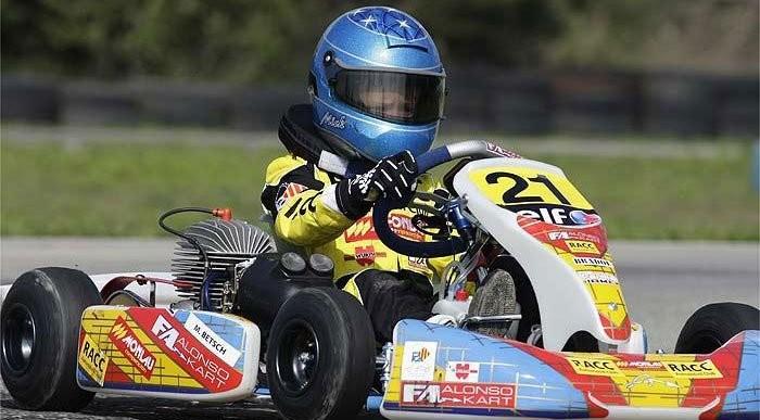 Ma gokarton, 10 év múlva az F1-ben?