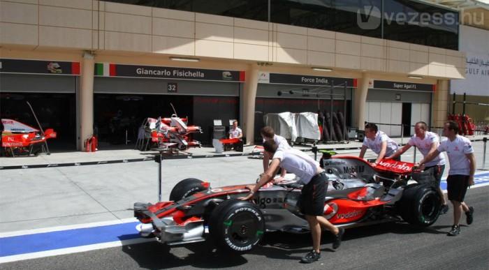 Hamiltonék nyakán a Williamsek