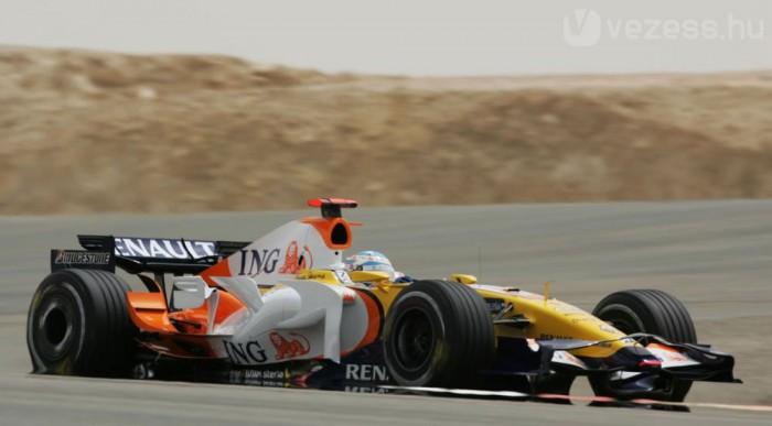 Alonso pont nélkül maradt