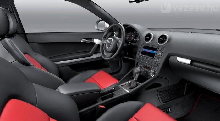 Sportos belső az S3-ban