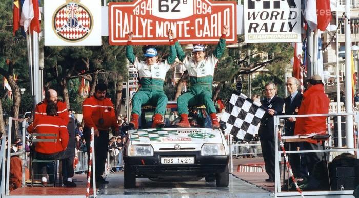1994-ben F2-es VB-címet nyert a Skoda Favorit