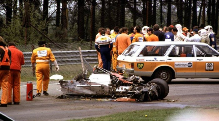 1982 - Gilles Villeneuve még nem élhette túl