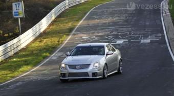 A Cadillacé a leggyorsabb szedán