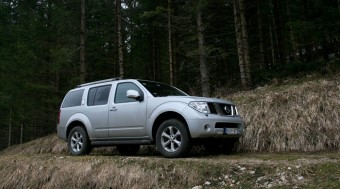 Nissan Pathfinder: Böszme nagy