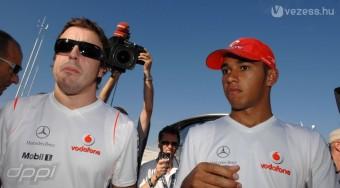 Hamilton szeretne Alonso lenni