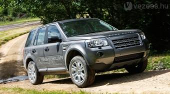 Hibrid modell a Land Rovertől