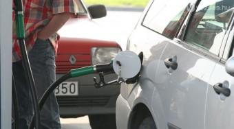 300 alatti benzin szerdától