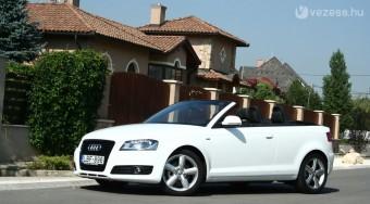 Audi A3 kabrió: Ez sem tökéletes
