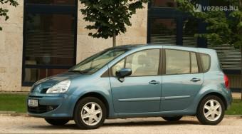 Renault Modus - Félidős korrekció