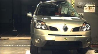 Ötcsillagos a Renault-terepjáró