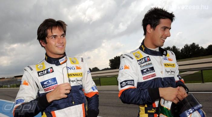 Piquet helyett di Grassi jön