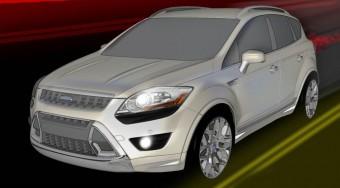 Új motor és külső a Ford Kugához