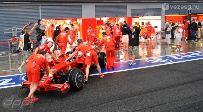 A Ferrari mindent bevet