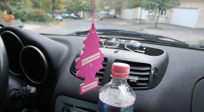 Fontos dolog az autó illata