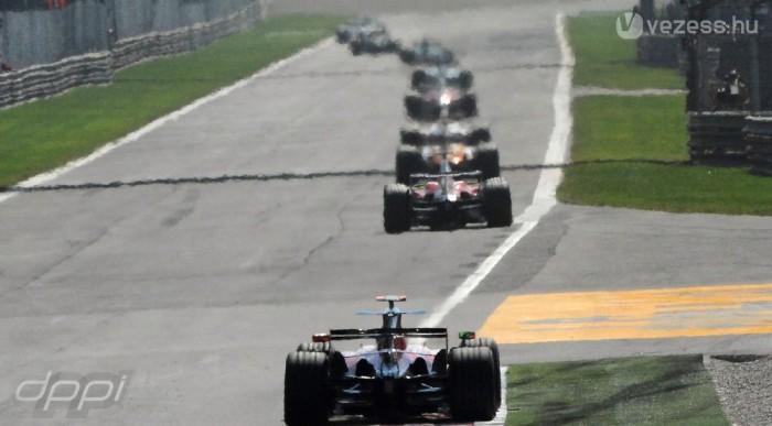 Az F1 leggyorsabb pályája