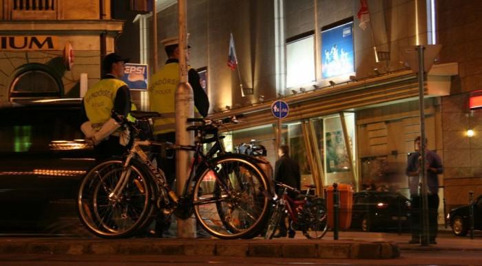 Nem biciklisrendőrök