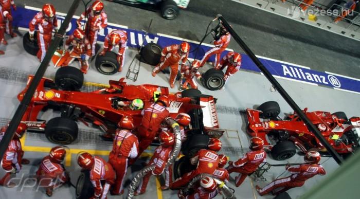 Káosz a Ferrarinál