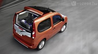 Kabrió a Renault Kangooból