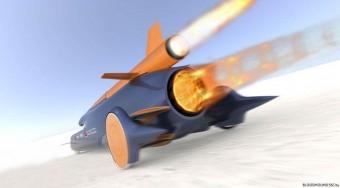 Puskagolyónál gyorsabb autó