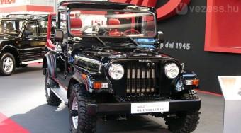 Jeepklón Indiából