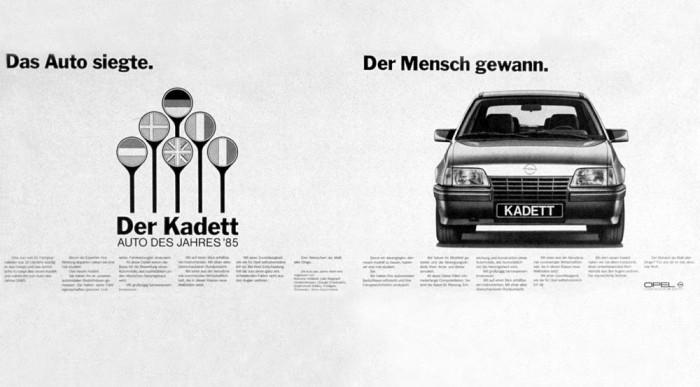 Az első Opel siker