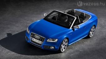 Elkészült az Audi A5 kabrió