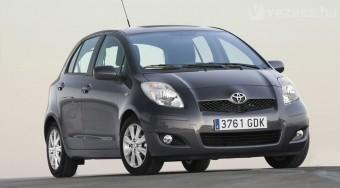 Megújult a Toyota Yaris