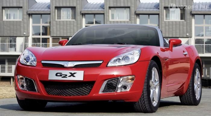 G2X: Daewoo az Opel GT-ből