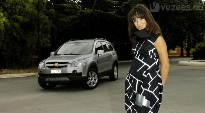 Chevrolet ihletésű ruha