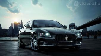 Új csúcsmodell a Maseratitól