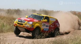 Szalay rosszul lett a Dakaron