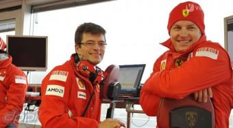 Nem volt balhé Räikkönennel