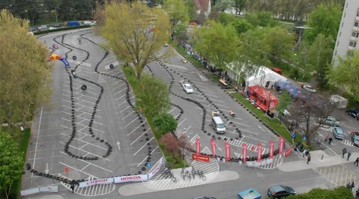 A Széchenyi Futam tavalyi versenypályája. Fotó: Földi D. Attila
