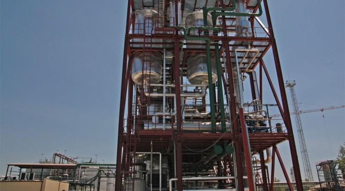 Itt készül a bioetanol