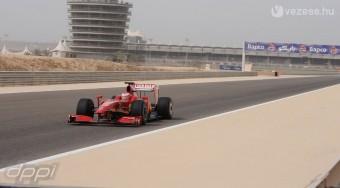 Räikkönen az új F1-essel köröz - videó